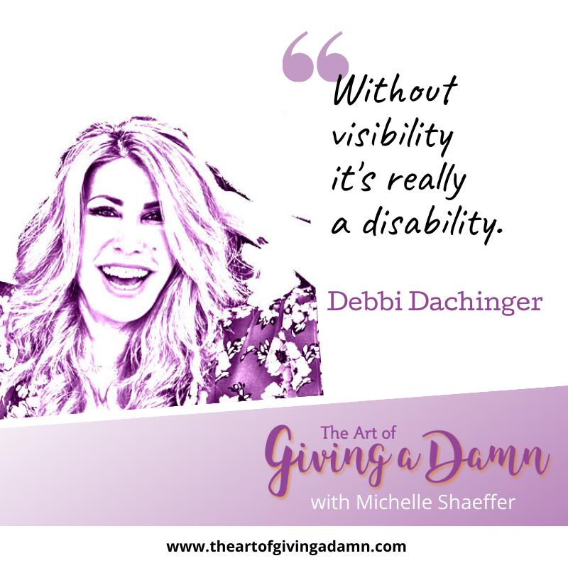 Debbi Dachinger on The Art of Giving a Damn Podcast